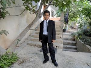Khalid's son, Noor