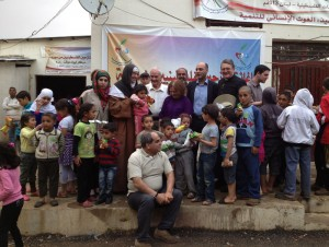 Our delegation visits Baalbek Palestinian Refugee Camp