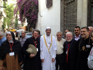 Grass-roots activists in Damascus, working for peace