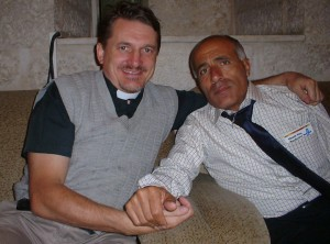 Mordechai Vanunu and me in 2004