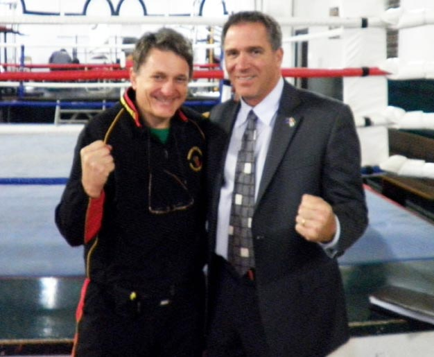 with Miko Peled in 2011