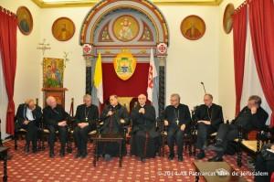 Catholic Bishops make a five-day visit to Gaza