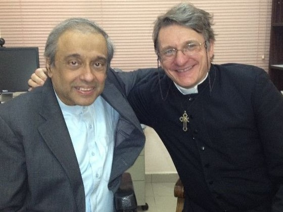 with Dr Chandra Muzaffar in 2013